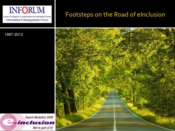 Footsteps on the Road of eInclusion1997-2012