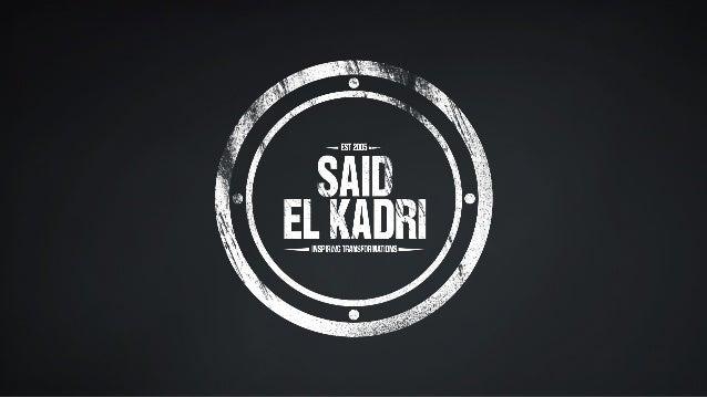 Said El Kadri - Conferencista Internacional