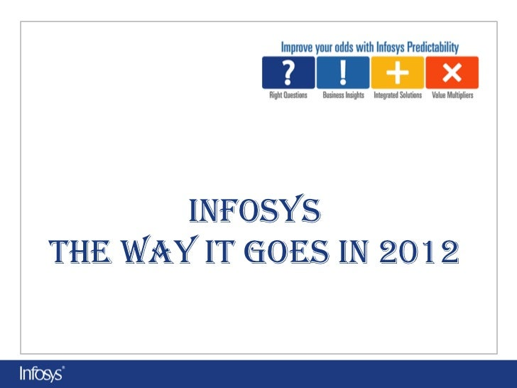 Infosys:How IT Goes In 2012