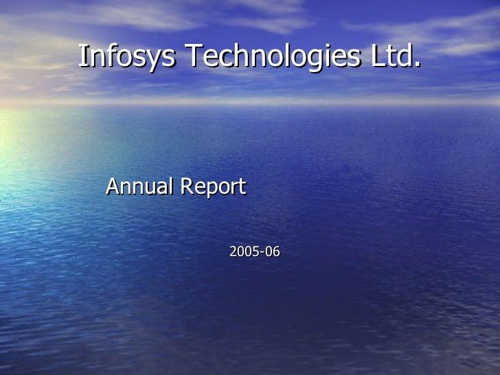 Infosys Technologies Ltd