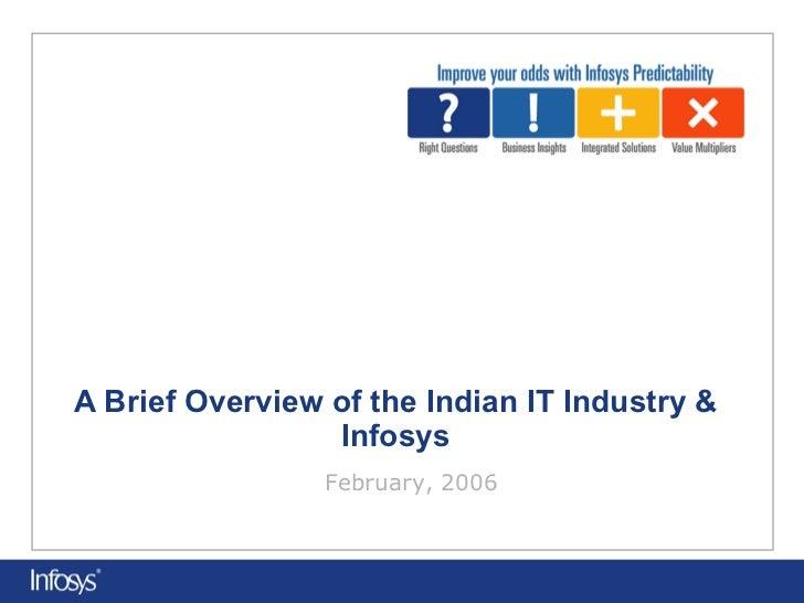 Infosys corporate presentation (it industry)   samz