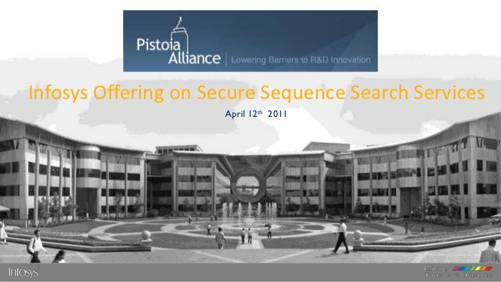 Infosys Offering on Secure Sequence Search Services                      April 12th 2011