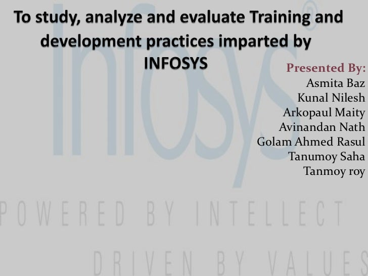 case study on training and development at infosys