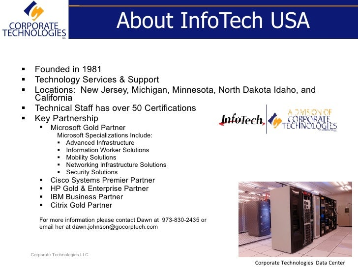 InfoTech USA Solutions Introduction