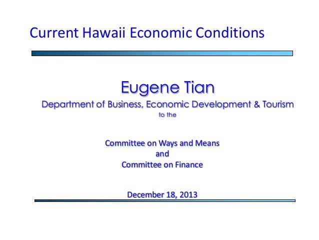 Economists' Presentation at Legislative Briefing