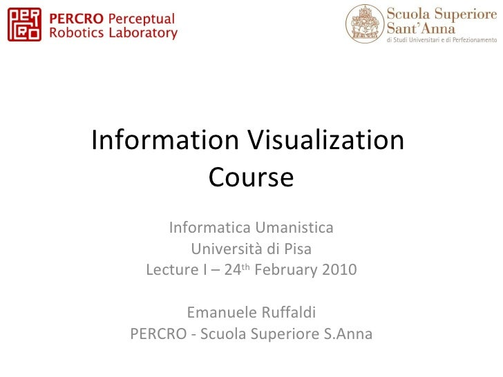 InfoVis 2010 Lecture 1