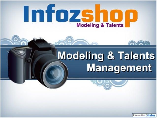 Modeling & Talents  Modeling & Talents Management