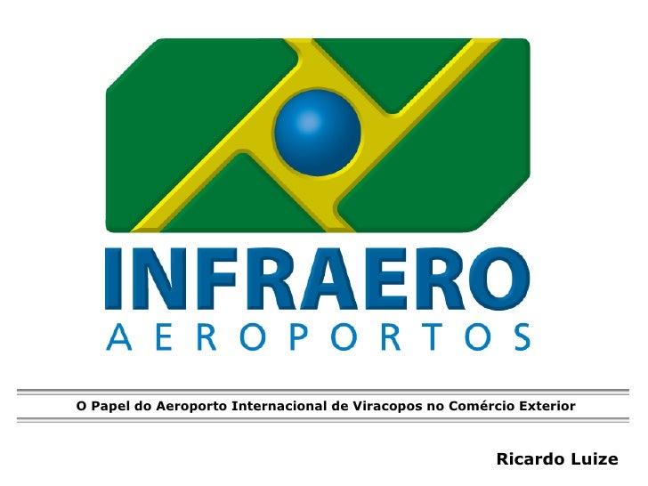 O Papel do Aeroporto Internacional de Viracopos no Comércio Exterior                                                      ...
