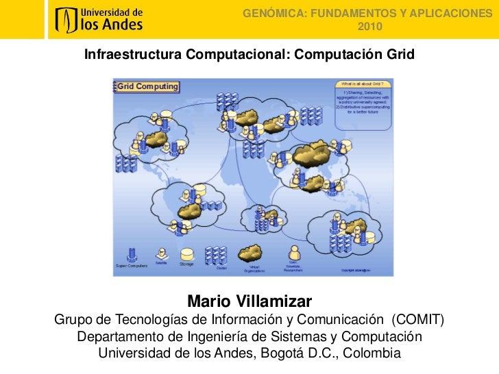 Infraestructura computacional: Computación en grid