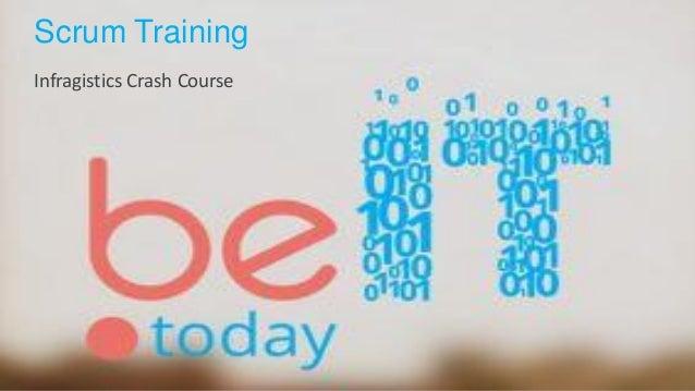 Scrum Training Infragistics Crash Course
