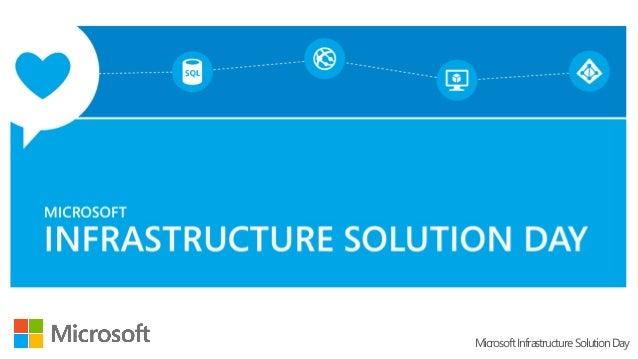 MicrosoftInfrastructureSolutionDay