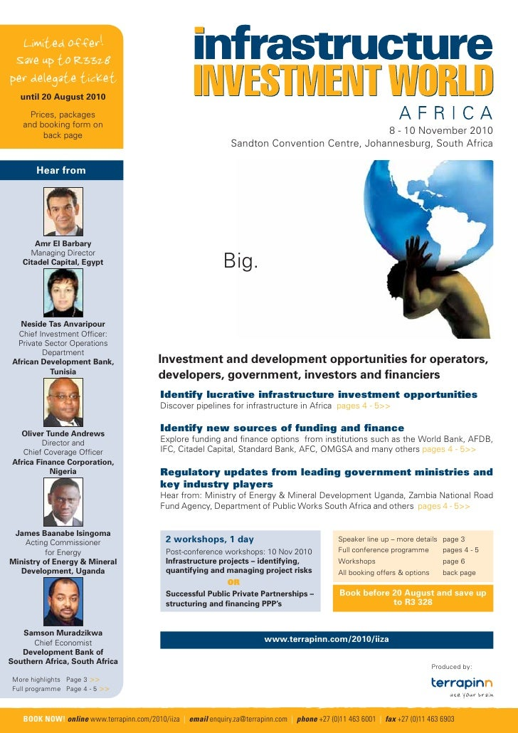 Infrastructure Investment Brochure