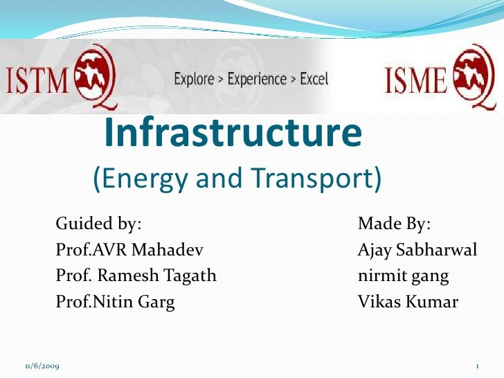 Infrastructure Of Energy