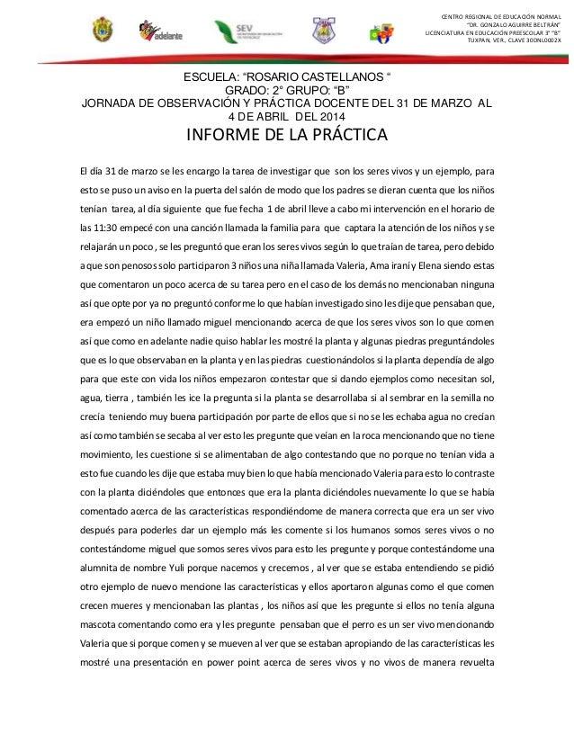 "CENTRO REGIONAL DE EDUCACIÓN NORMAL ""DR. GONZALO AGUIRRE BELTRÁN"" LICENCIATURA EN EDUCACIÓN PREESCOLAR 3° ""B"" TUXPAN, VER...."