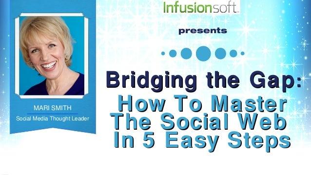 presents                                   Bridging the Gap :      MARI SMITH                     How To MasterSocial Medi...