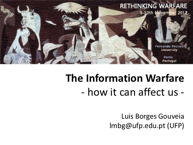 The Information Warfare: how it can affect us