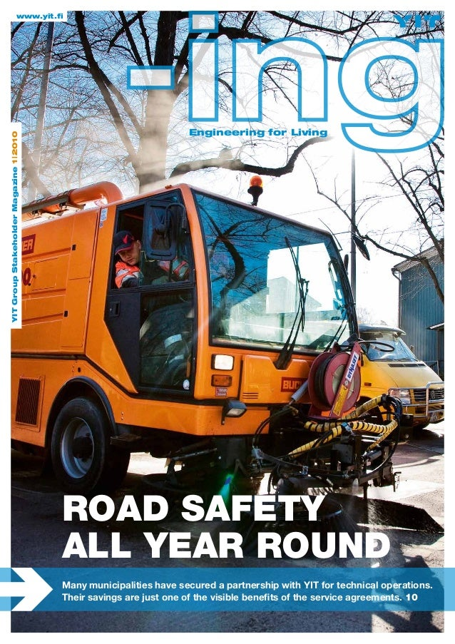 YIT internal magazine - ing 01/2010