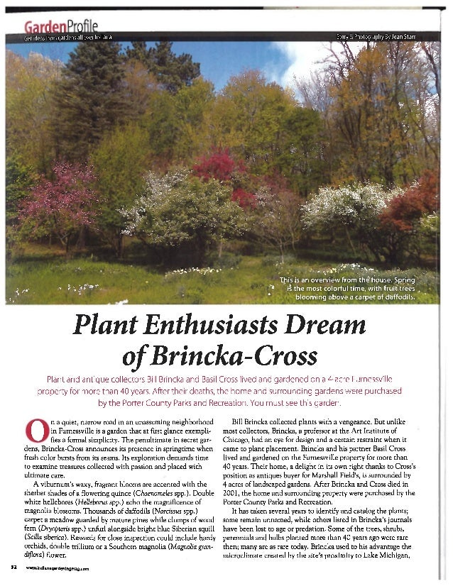 Plant Enthusiasts Should Visit Brincka-Cross