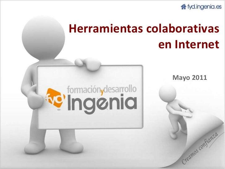 Herramientas colaborativas en Internet Mayo 2011