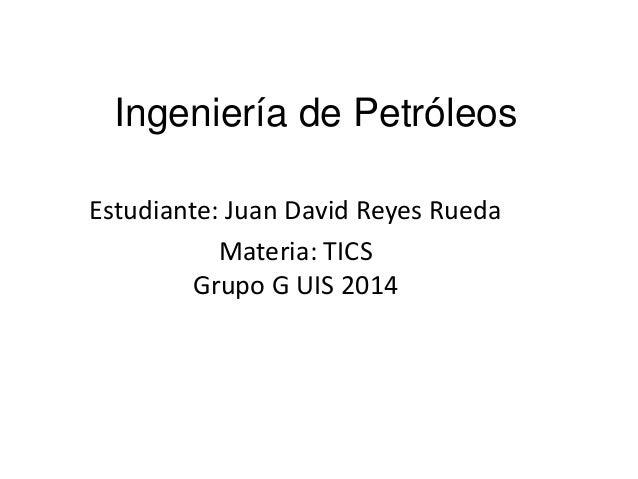 Ingeniería De Petroleos