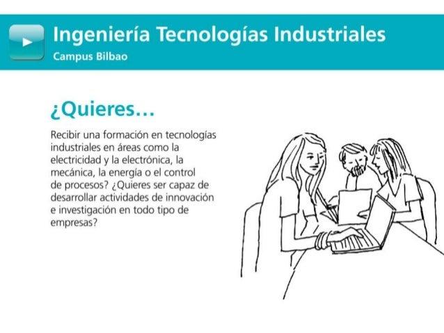 Grado en Ingeniería Tecnologías Industriales