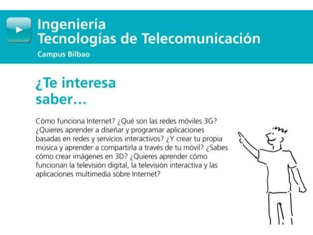 Grado en Ingeniería Tecnologías de Telecomunicación