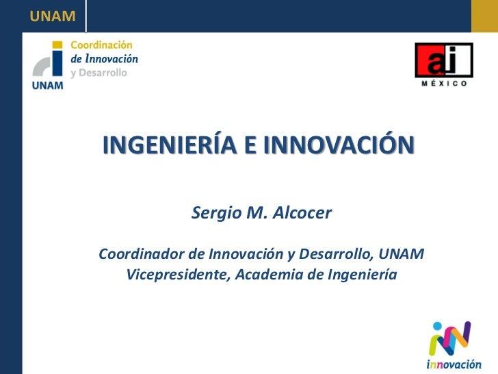 Grupo Visión México 2030, Ingenieria e innovación, 3 de septiembre 2012