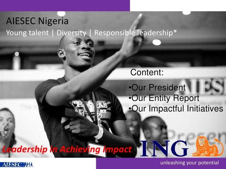 Ing impact award