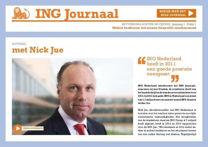 ING Journaal Editie 1
