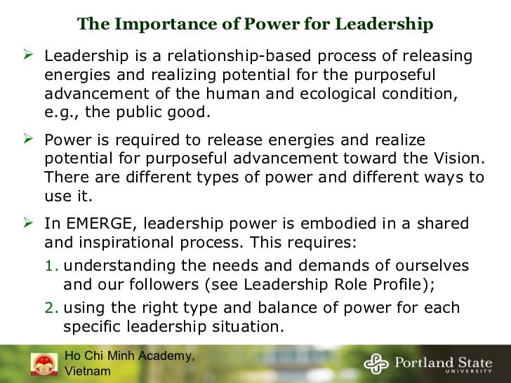 the relationship of power and leadership The relationship between power and authority when we confront the relationship between power and authority, we tackle the basic elements in the dynamics of.