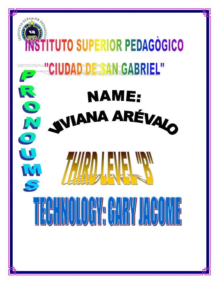 Ingle homework viviana