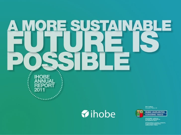 Ihobe Annual Report 2011