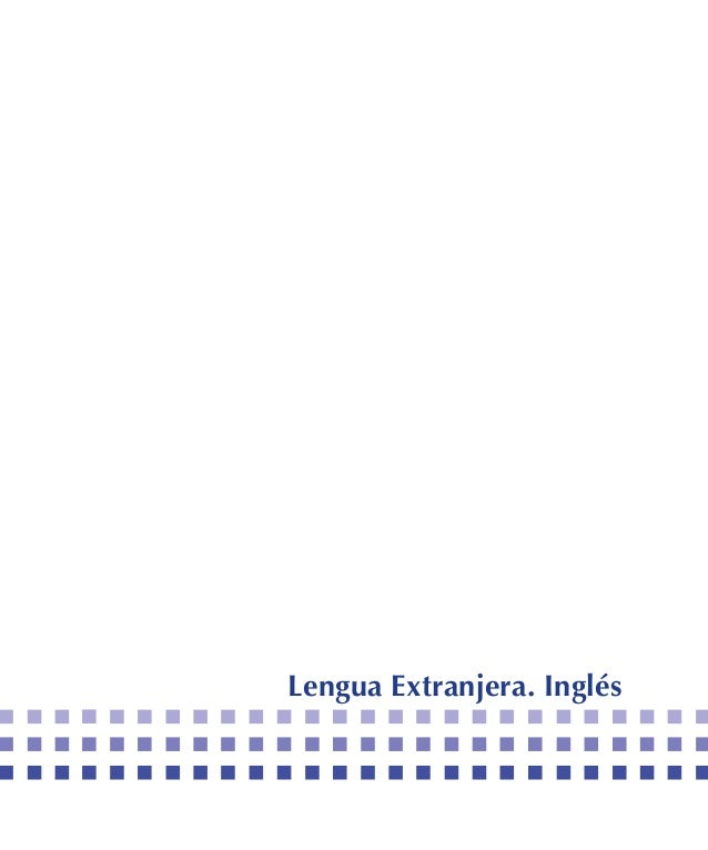 Lengua Extranjera. Inglés