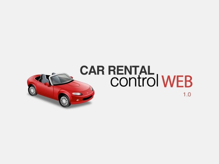Inglês Instrumental - Presenting a Software // Car Rental Control Web