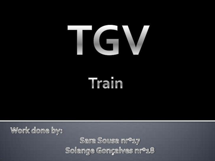 Ingles Tgv