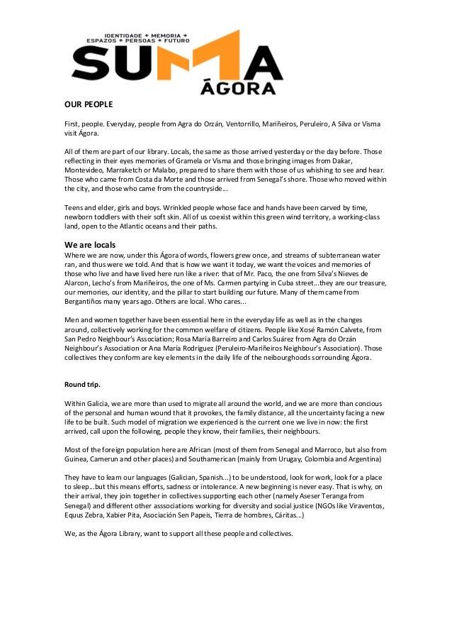Suma Ágora: english version