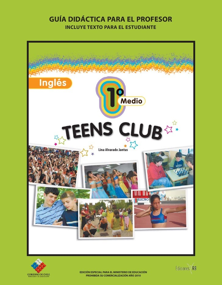 Inglés 1° medio  teens club   guia del profesor