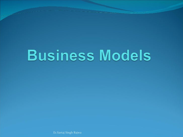 Ingredients of business model