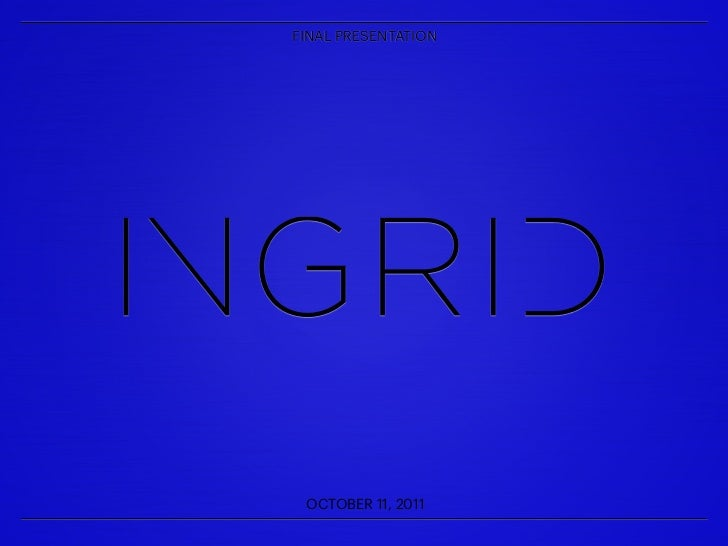 Final Delivery to Ingrid Records