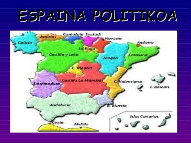 ESPAINA POLITIKOA