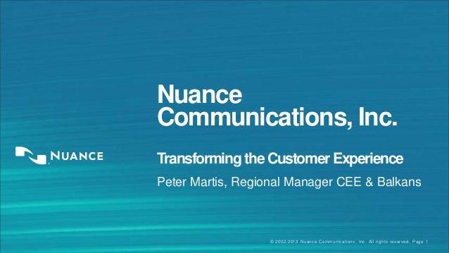 Ing voice biometrics nuance