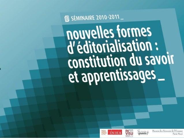 Louise Merzeau Archives et constitution du savoir