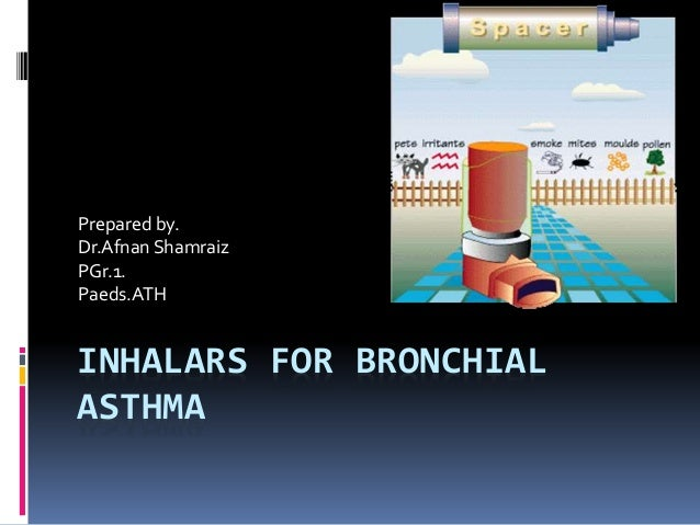 Inhalars for bronchial asthma
