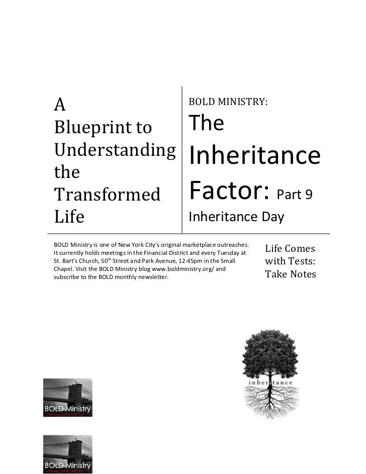 A                                                  BOLD MINISTRY:Blueprint to                                       TheUnd...