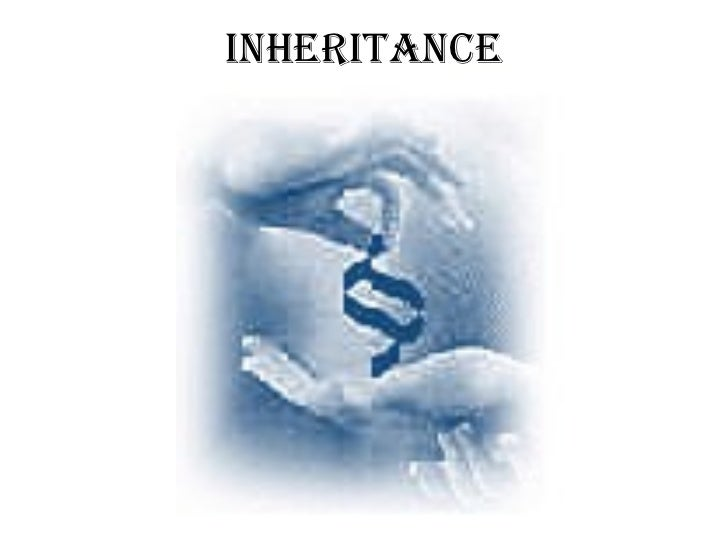 Inheritance Chapter 7