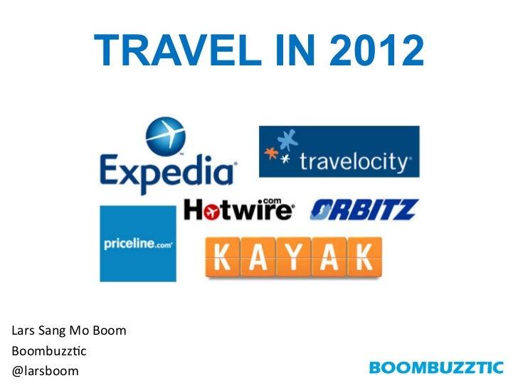 TRAVEL IN 2012Lars Sang Mo Boom Boombuzz0c @larsboom