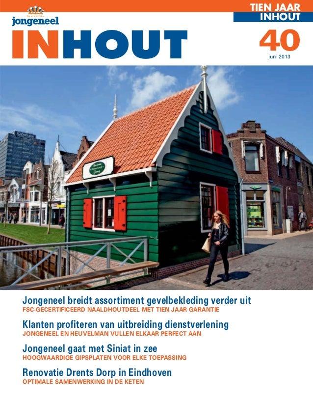 Inhout 40 Jongeneel Houthandel en Bouwmaterialen