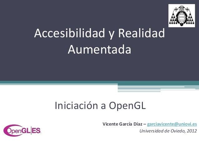 Iniciación a OpenGL