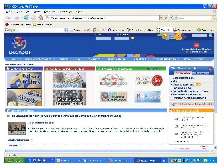 Iniciativa EducaMadrid - MadridLinux.