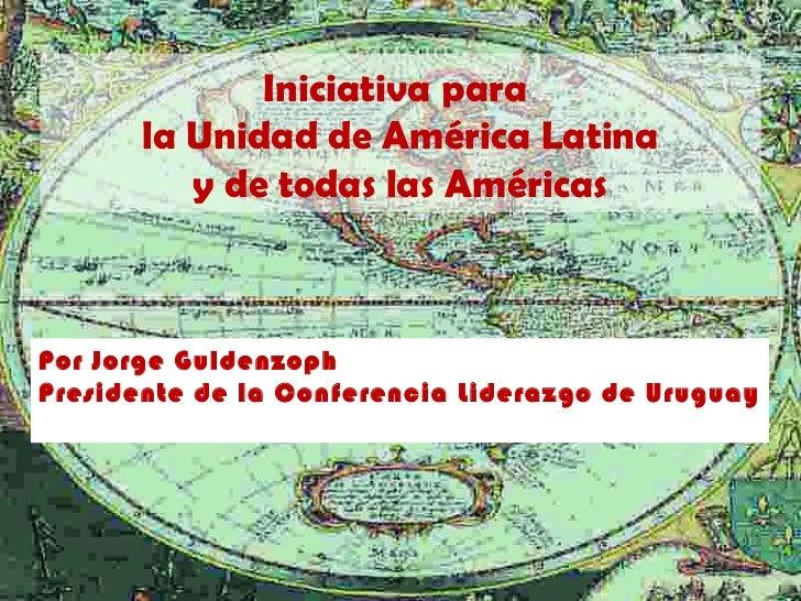 Iniciativa para América Latina
